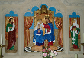 Reredos in the Lady Chapel