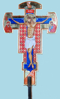 PROCESSIONAL CROSS FRONT